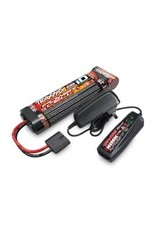 Traxxas Battery/charger completer pack (includes #2969 2-amp NiMH peak detecting AC charger (1), #2923X 3000mAh 8.4V 7-cell NiMH battery (1))