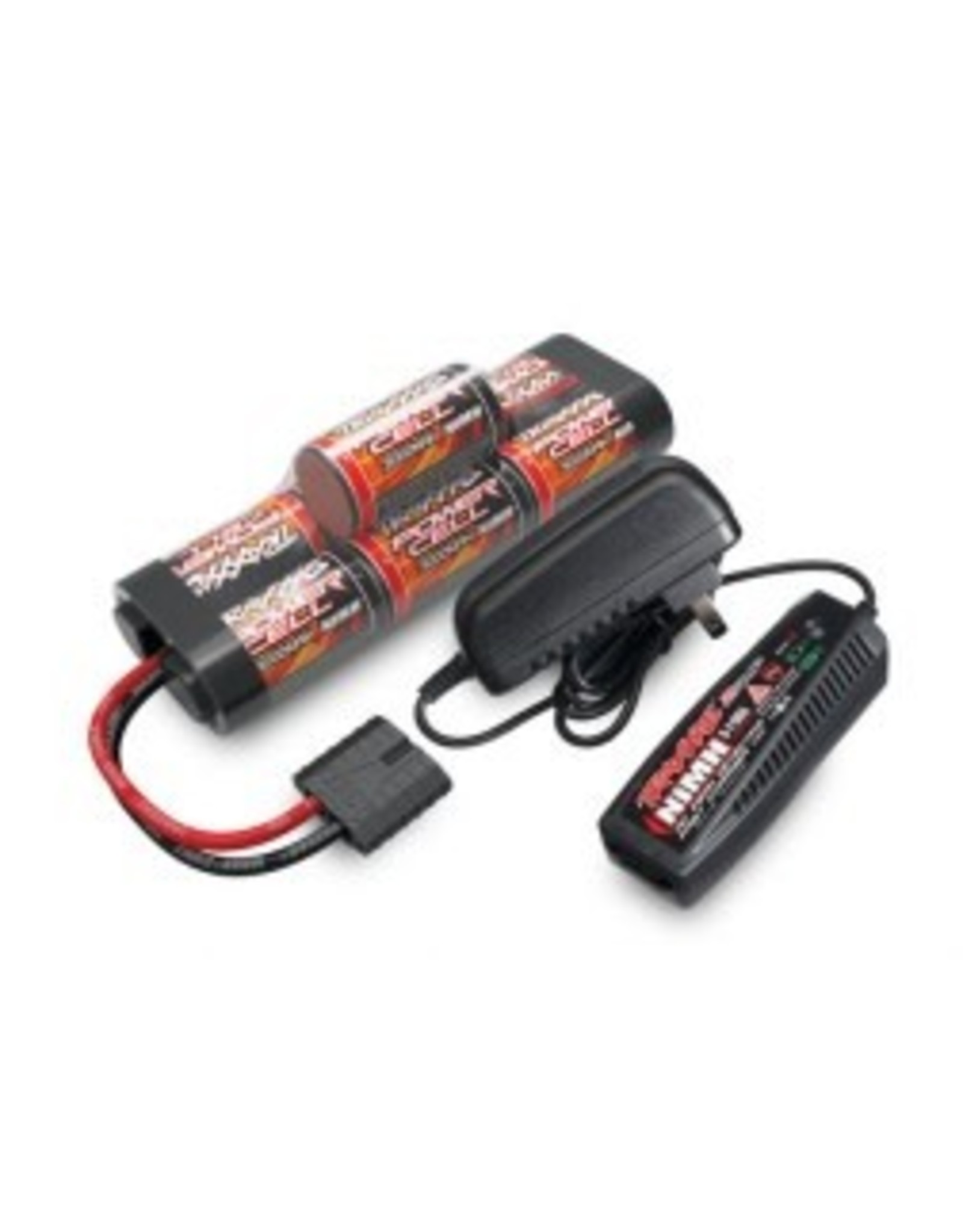 Traxxas Battery/charger completer pack (includes #2969 2-amp NiMH peak detecting AC charger (1), #2926X 3000mAh 8.4V 7-cell NiMH battery (1))