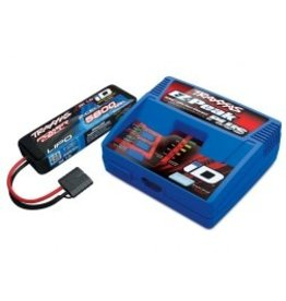 Traxxas 2S 5800mAh Single Completer Pack: (1) 7.4V 5800mAh LiPo Battery, (1) EZ-Peak Plus ID Charger(2992)