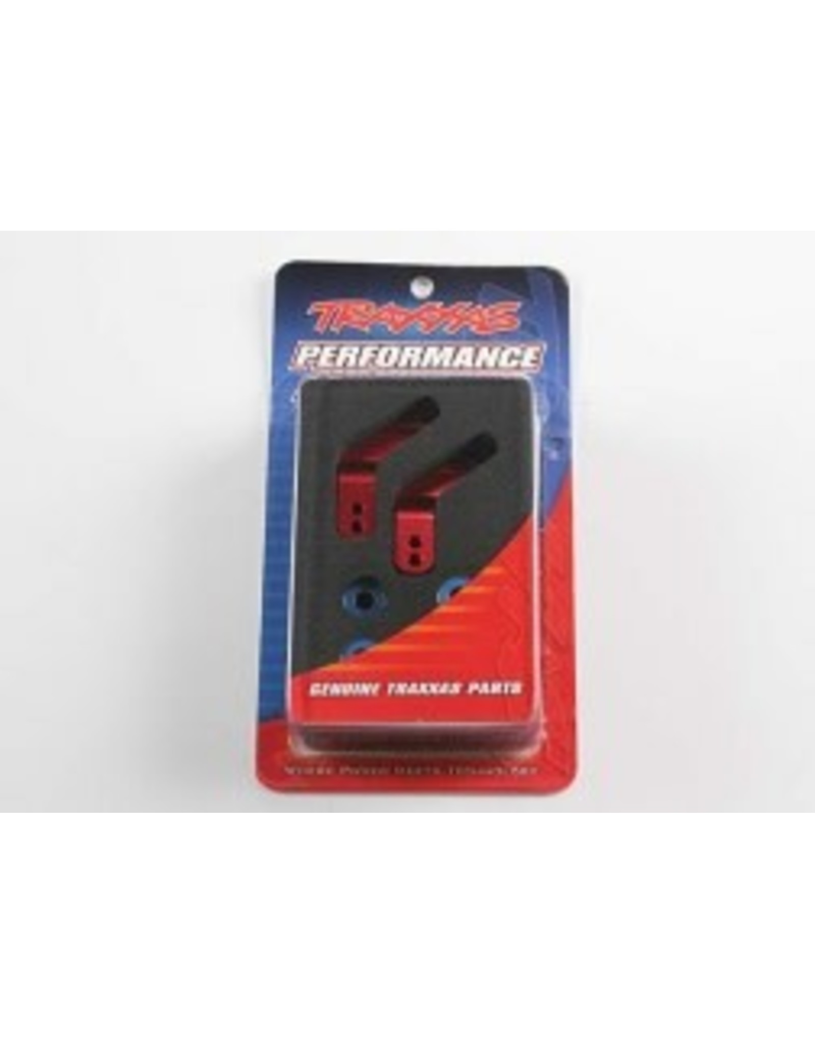 Traxxas Aluminum Stub Axle Carriers, Red (2): RSU, STA, BAN  (TRA3652X)
