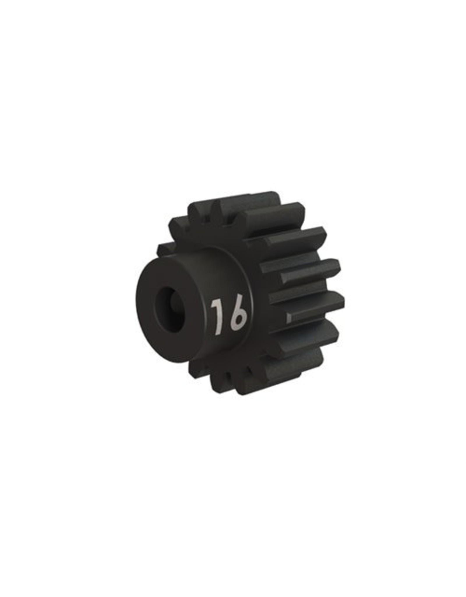 Traxxas Gear, 16-T pinion (32-p), heavy duty ( hardened steel)/ set screw TRA3946X