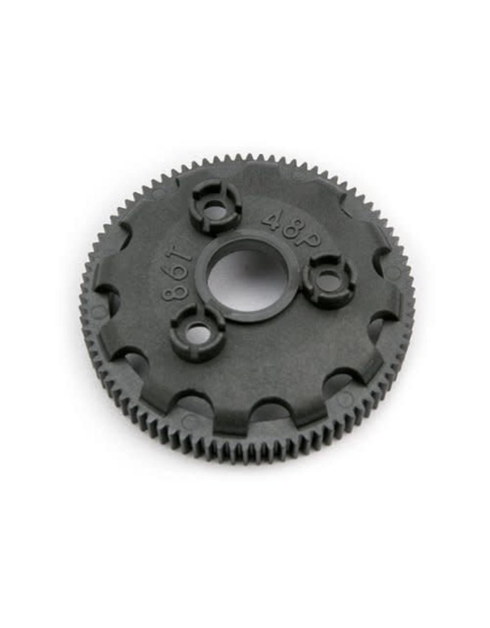 Traxxas 48P Spur Gear,86T : Torque Slipper Clutch  (TRA4686)