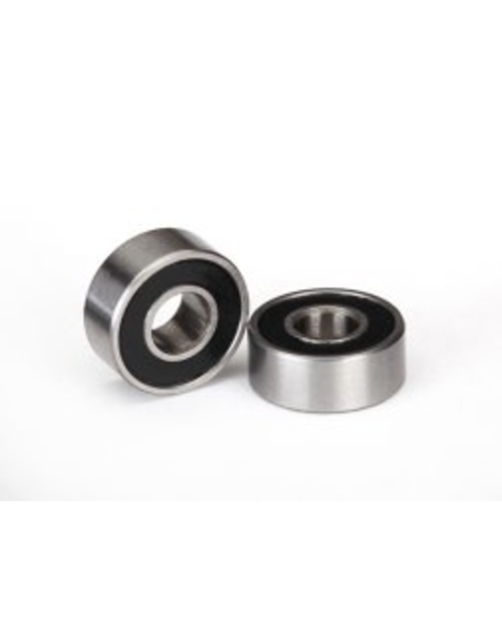 Traxxas Ball bearings, black rubber sealed (4x10x4mm) (2)  (TRA5104A)
