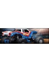 Traxxas 1/10 Bigfoot 2WD Brushed (RWB): Includes Battery with Charger