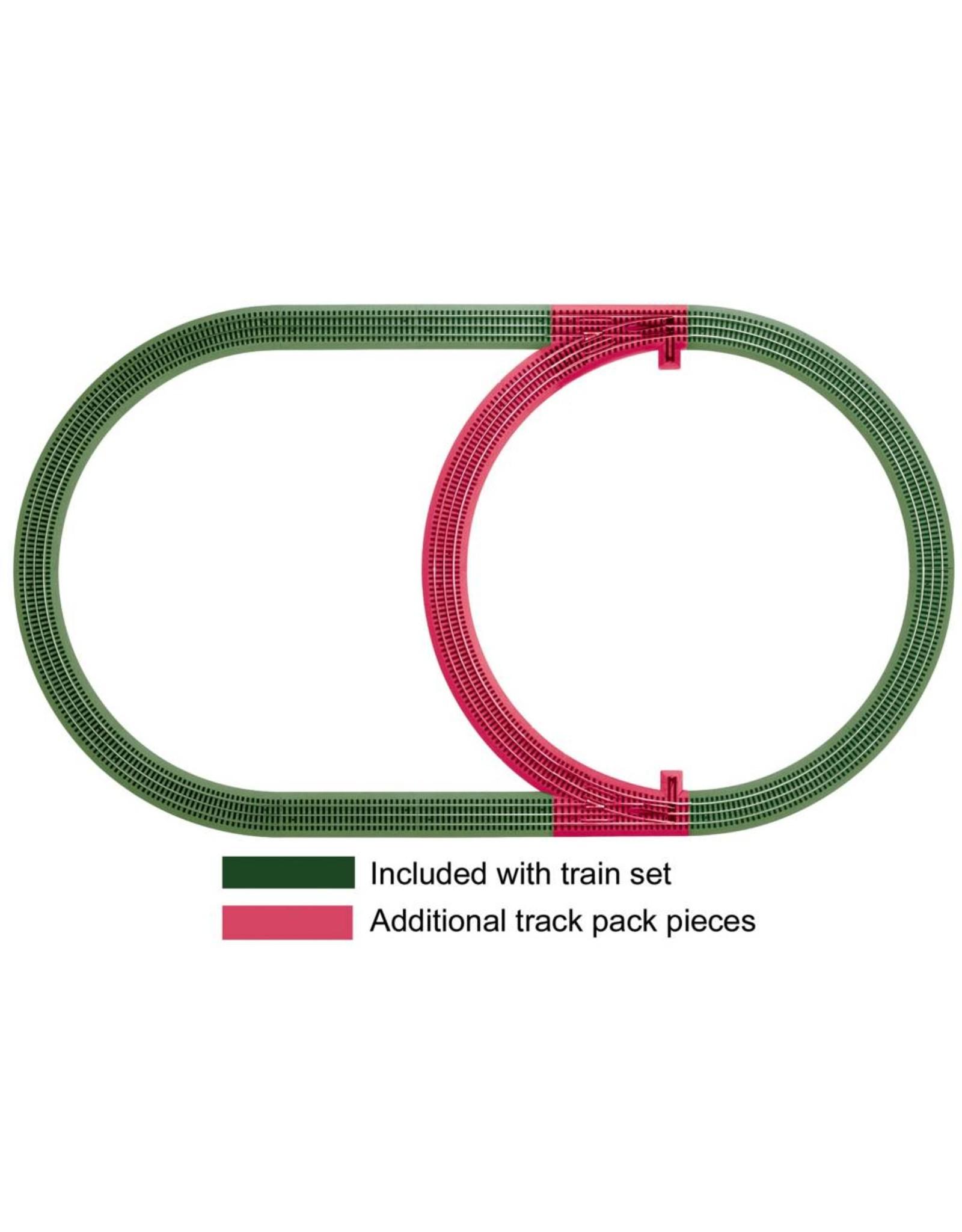 Lionel FasTrack Inner Passing Loop Track Pack - 3-Rail