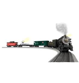 Lionel Pennsylvania Keystone Special - Pennsylvania Railroad 0-8-0, 3 Cars, FasTrack Oval, Transformer