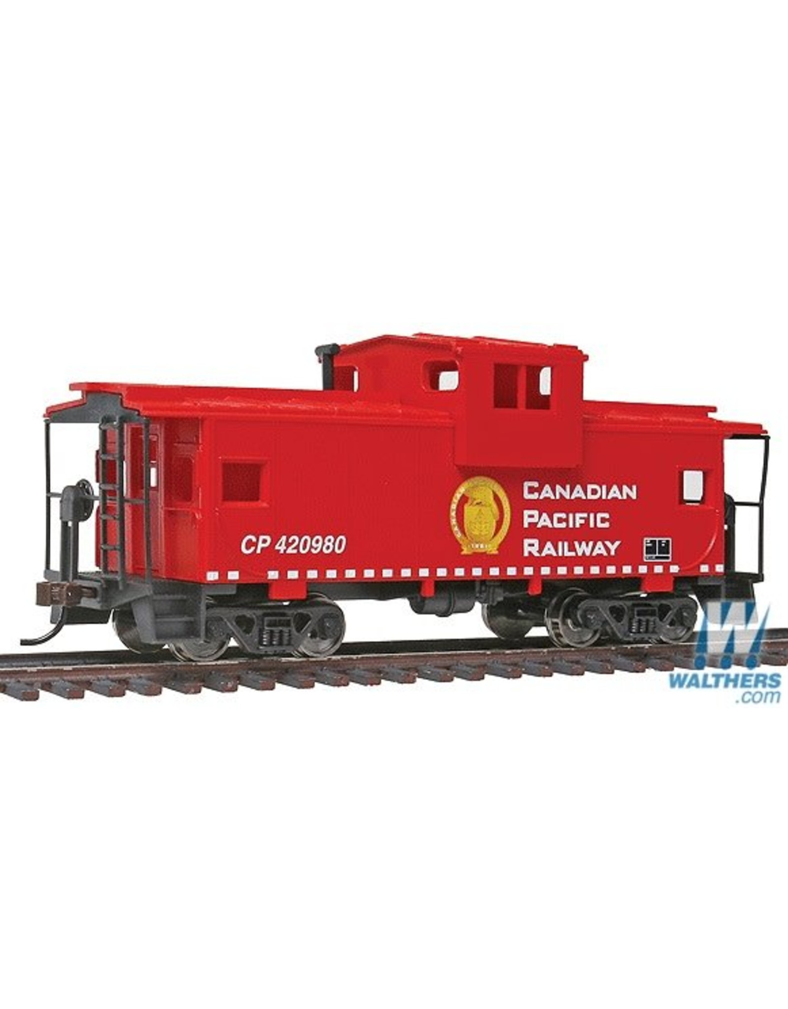 Walthers Caboose - Canadian Pacific (red, white; Golden Beaver Logo)