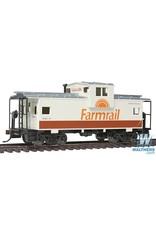 Walthers Caboose - Farmrail (tan, brown, orange)