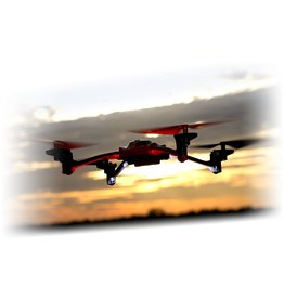 Traxxas Traxxas LaTrax Alias Ready-To-Fly Micro Electric Quadcopter Drone (Red)