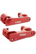 Traxxas Alum Caster Block(C-Hubs),Red Left/Right: SLH 4x4  (6832R)
