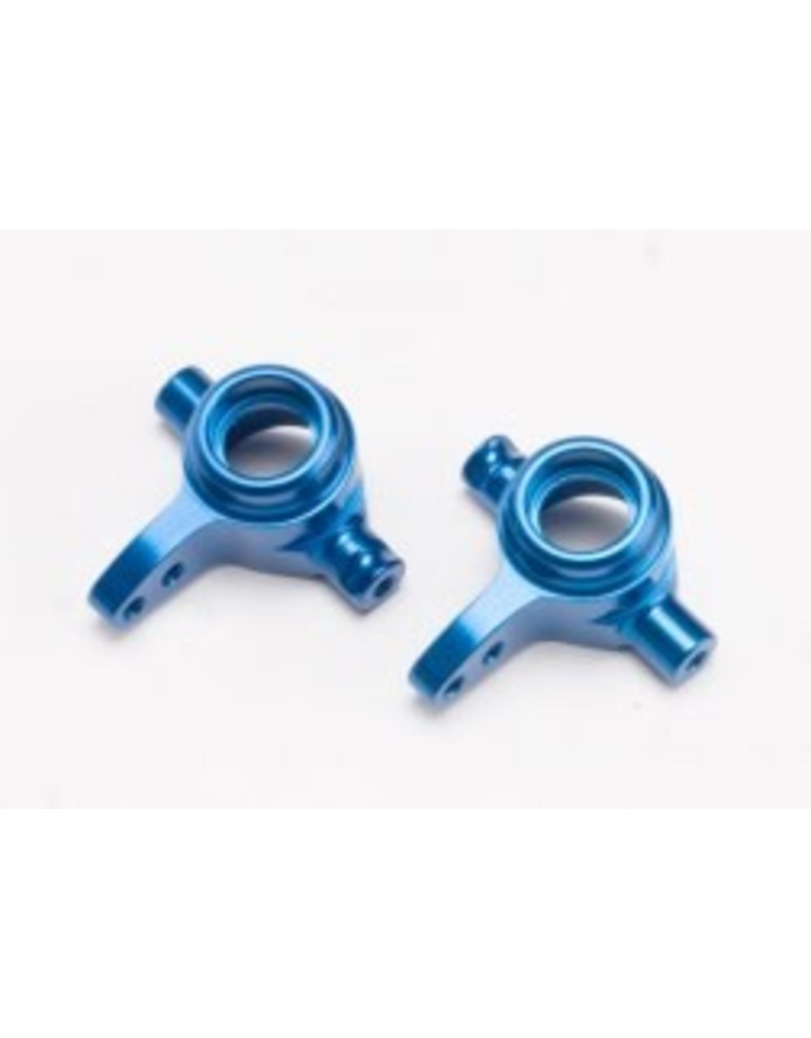 Traxxas Alum Steering Blocks (L&R), Blue: SLH 4x4, Stamp 4x4  (6837X)