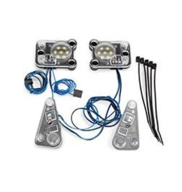 Traxxas LED headlight/tail light kit (fits #8011 body, requires #8028 power supply)  (TRA8027)