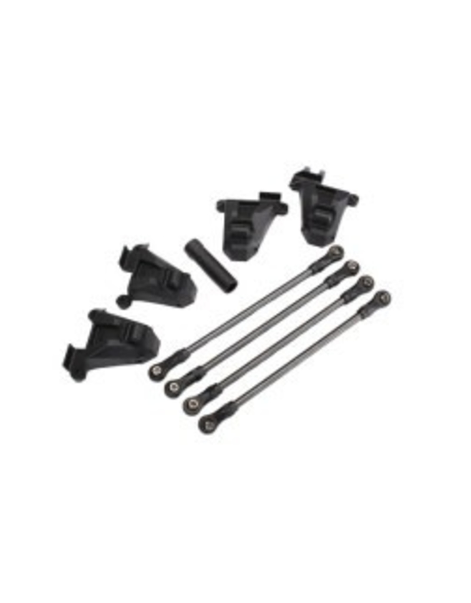Traxxas Chassis conversion kit, TRX-4 (short to long wheelbase) (includes rear upper & lower suspension links, front & rear shock towers, long female half shaft)