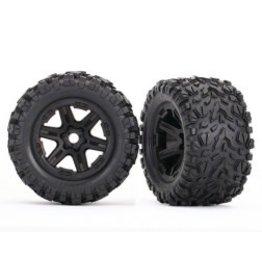 Traxxas Tires & Wheels, E-Revo (TSM Rated) (TRA8672)