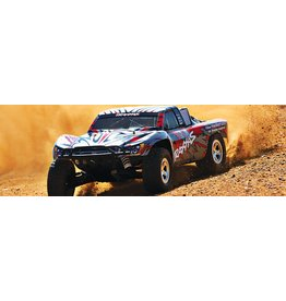 Traxxas 1/10 Slash 2WD Brushed (RED): No Battery, No Charger