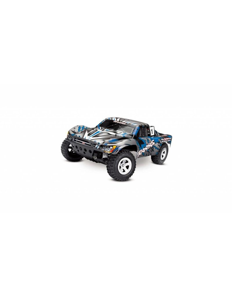 Traxxas 1/10 Slash 2WD Brushed (BLUE): No Battery, No Charger