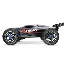 Traxxas 1/16 E-Revo 4X4 Brushless VXL (BLUE): Includes Battery & Charger