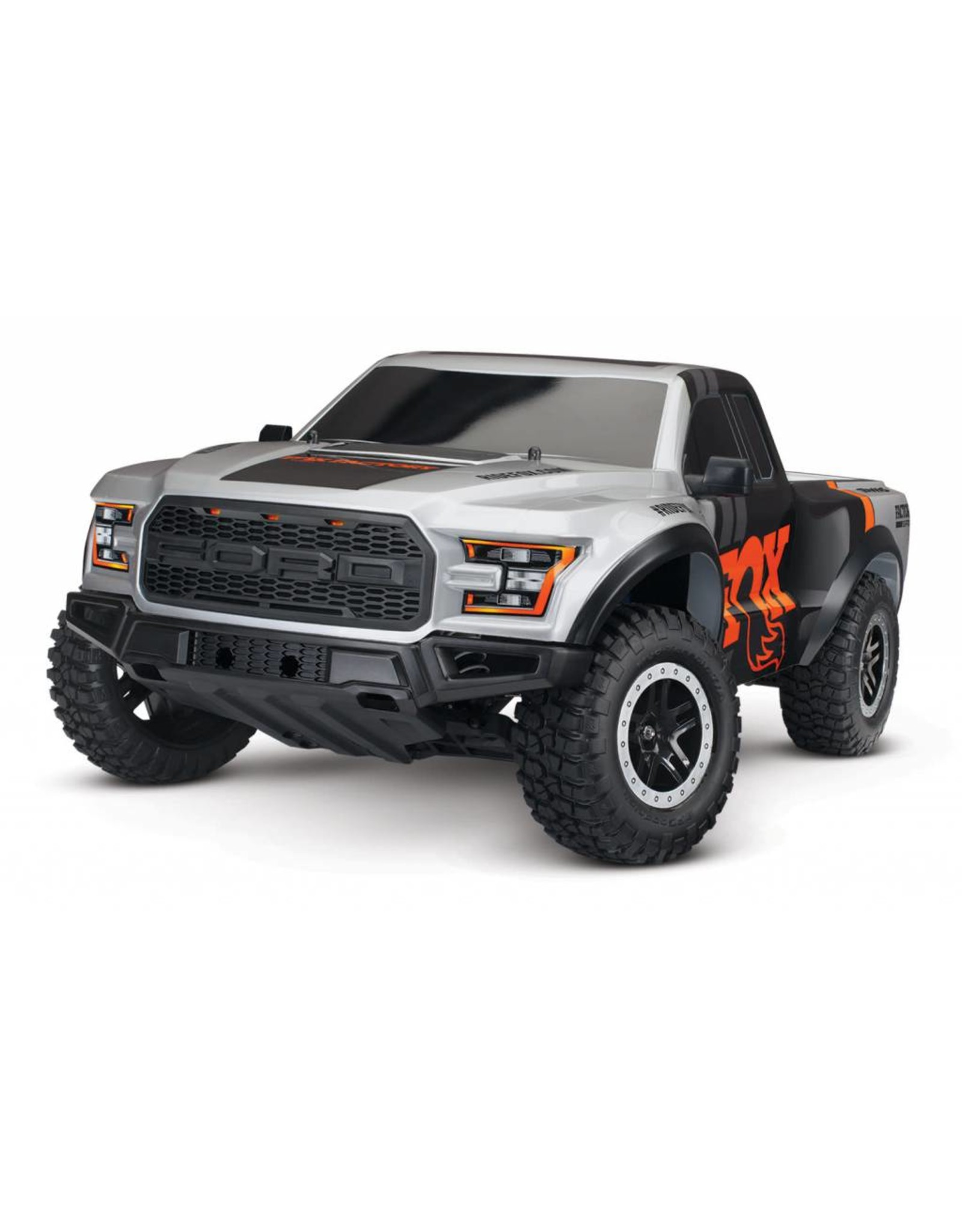 Traxxas 1/10 Ford Raptor 2WD Brushed (FOX); Includes Battery with Charger