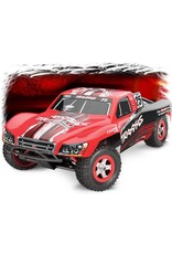 Traxxas 1/16 Slash 4X4 Brushed (MARK): Includes Battery with Charger RED(83044-4)