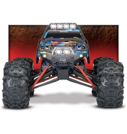 Traxxas 1/16 Summit 4X4 Brushed (ROCK N ROLL): Includes Battery with Charger