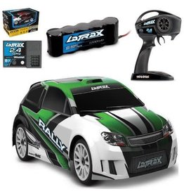 Traxxas LaTrax Green 1/18 Rally 4WD RTR w/Battery+Charger