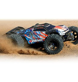 Traxxas 1/10 E-Revo 4X4 Brushless VXL (GREEN): No Battery, No Charger