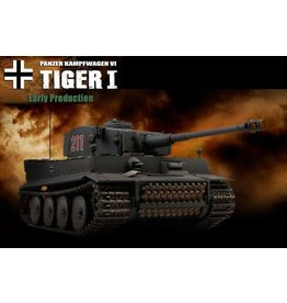VsTank VsTank 1/24 Tiger 1 Early Battle Tank Gray 2.4GHz RTR