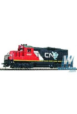 Walthers Canadian National #4497 (red, black; North America Scheme)