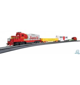 Walthers Ready-for-Fun Train Set -- Santa Fe
