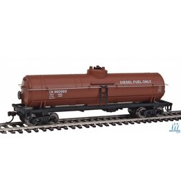 Walthers Tank Car - Canadian National (Boxcar Red, Diesel Fuel Service)