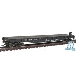 Walthers Flatcar - Nickel Plate Road #1907 (black)