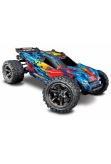 Traxxas 1/10 Rustler 4x4 VXL Brushless (RED): No Battery, No Charger