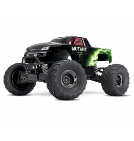 Traxxas 1/10 Stampede 4X4 Brushed (MUTANT): Includes Battery with DC Charger