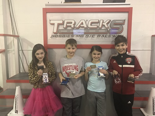 January Tamiya Race Winners