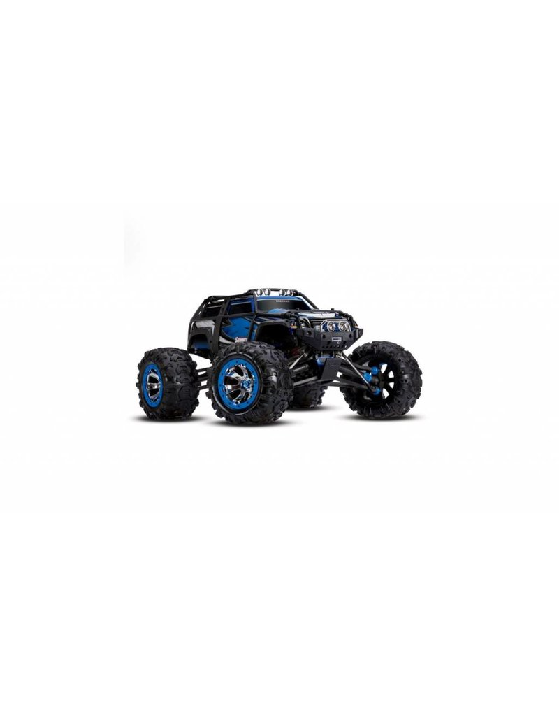 Traxxas 1/10 Summit 4WD Monster Truck (BLUE): No Battery, No Charger
