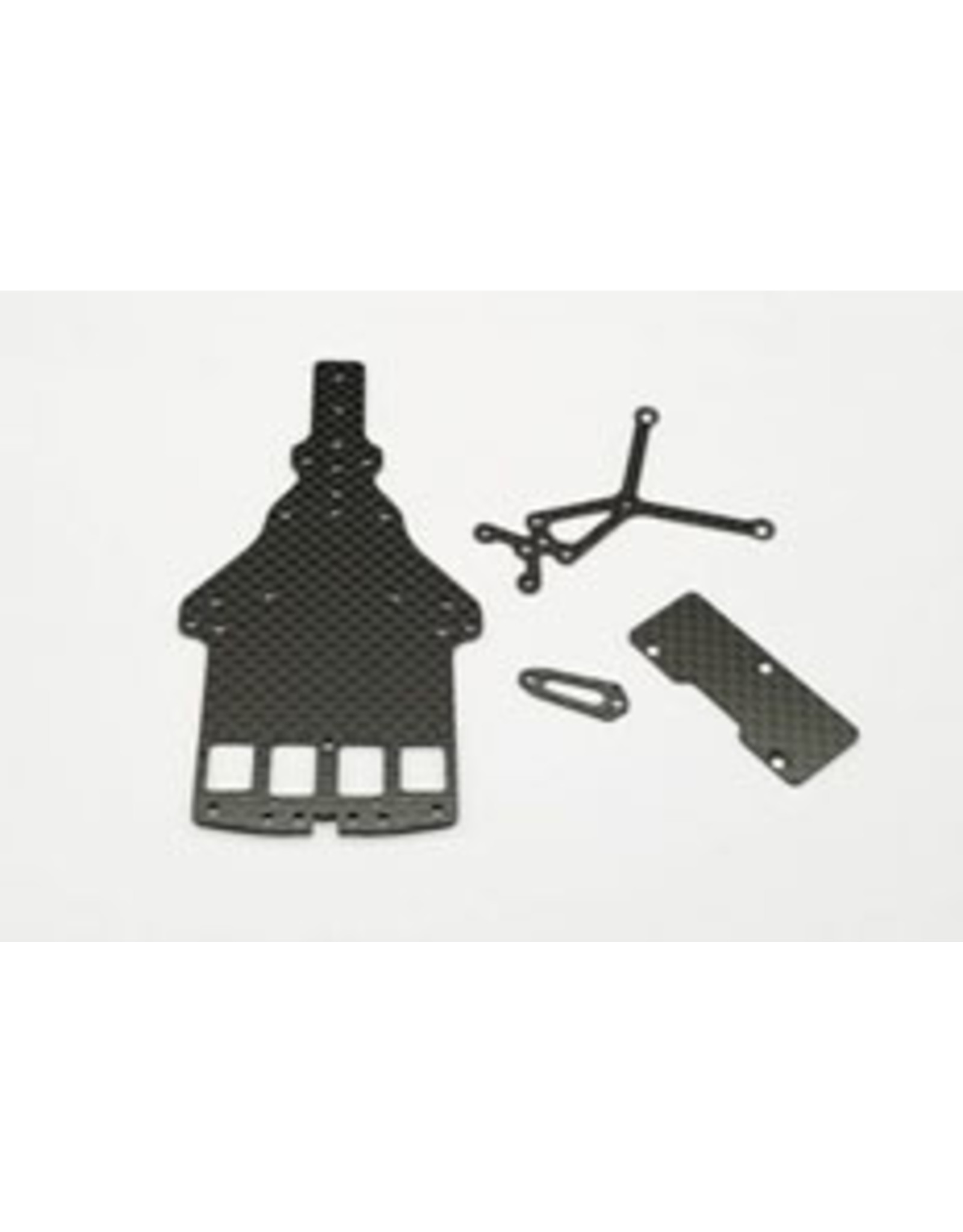 GL Racing GLF-1 CARBON MAIN CHASSIS,UPPER DESK &CROSS BRACE (GLF-S-032)