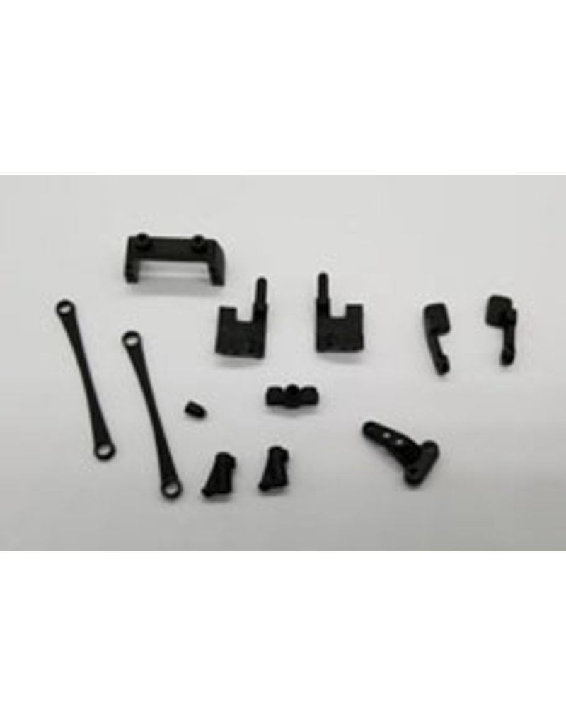 GL Racing GLF-1 SERVO MOUNT, SIDE LINK & CHASSIS PARTS (GLF-S-007)