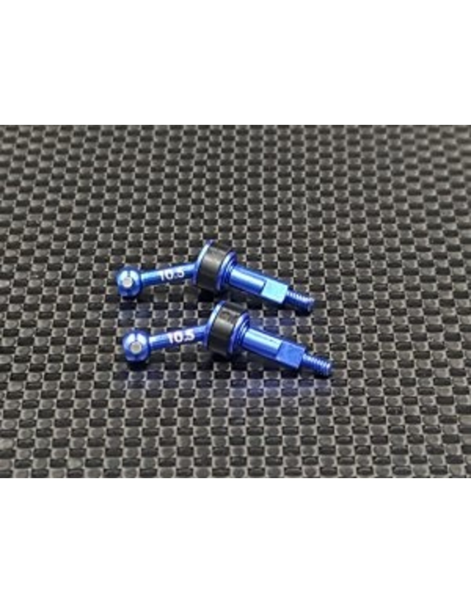 GL Racing GLA 7075-T6 Universal Shaft Set (10.5)(GLA-UA001-L)