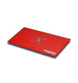 Kyosho Big K 2.0 Red Pit Mat 2x4ft