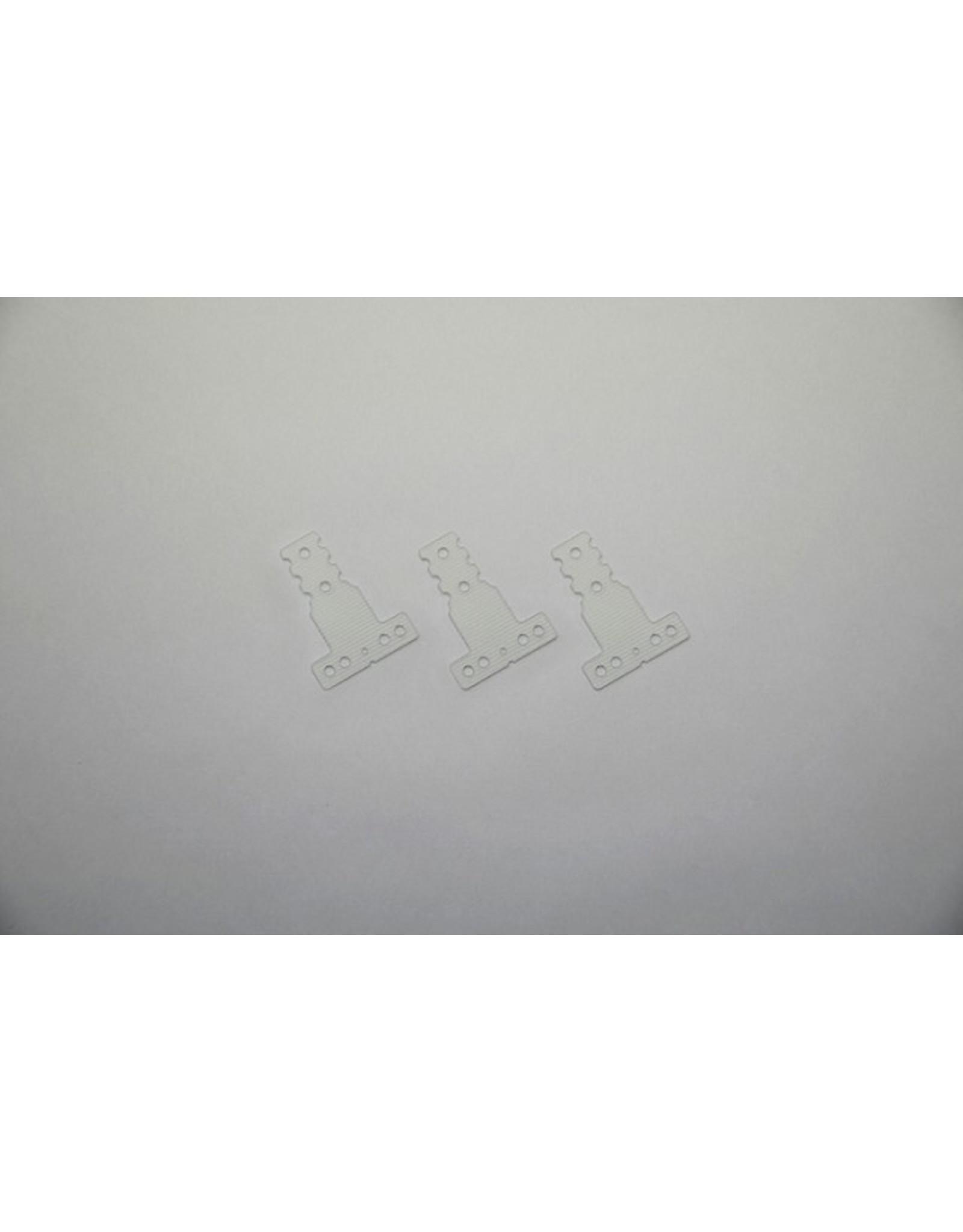 Kyosho FRP Rear Sus. Plate(Hard/MM/LM/3pcs/MR-03) (MZW409H)