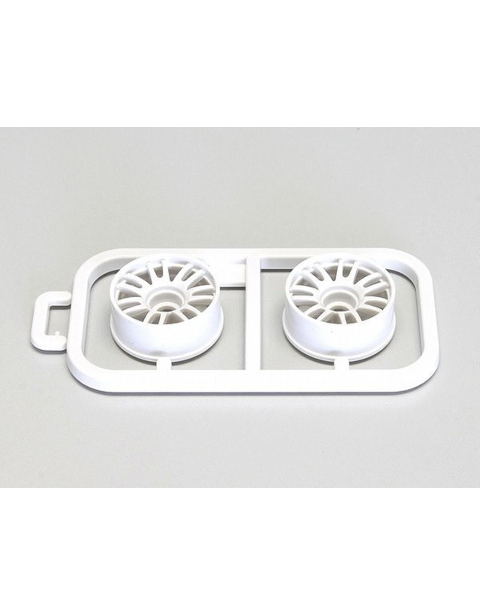 Kyosho Multi Wheel II W/Offset 1.0 (White/RE30/2pcs) (MZH131W-N1)