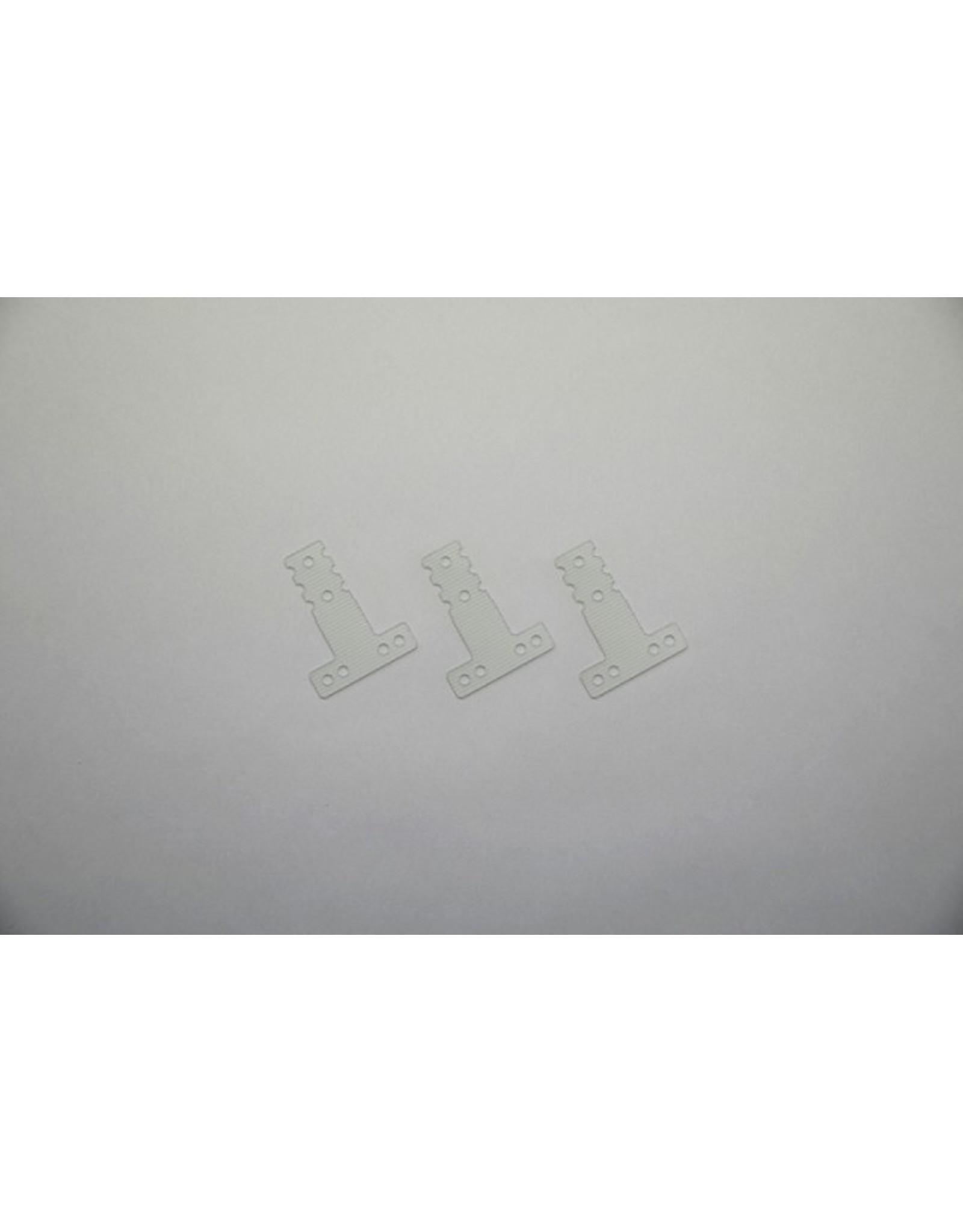 Kyosho FRP Rear Sus. Plate (Soft/MM/LM/3pcs/MR-03) (MZW409S)