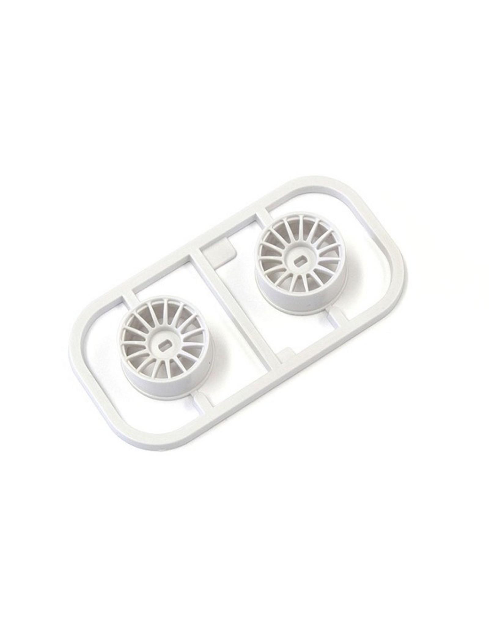 Kyosho Multi Wheel W/Offset 0 (White/AWD/2pcs.) (MDH100W-W0)