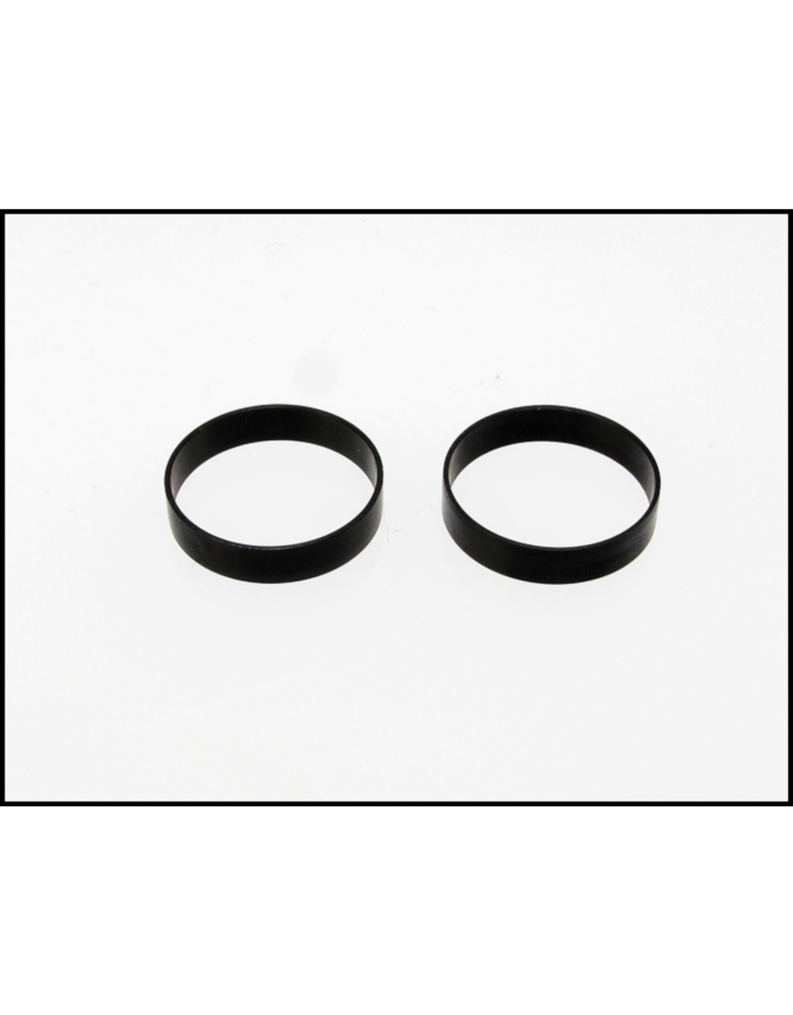 PN Racing PN Racing Mini-Z Wheel Outer Lip for Rear Wheel (2pcs Black) (300804K)