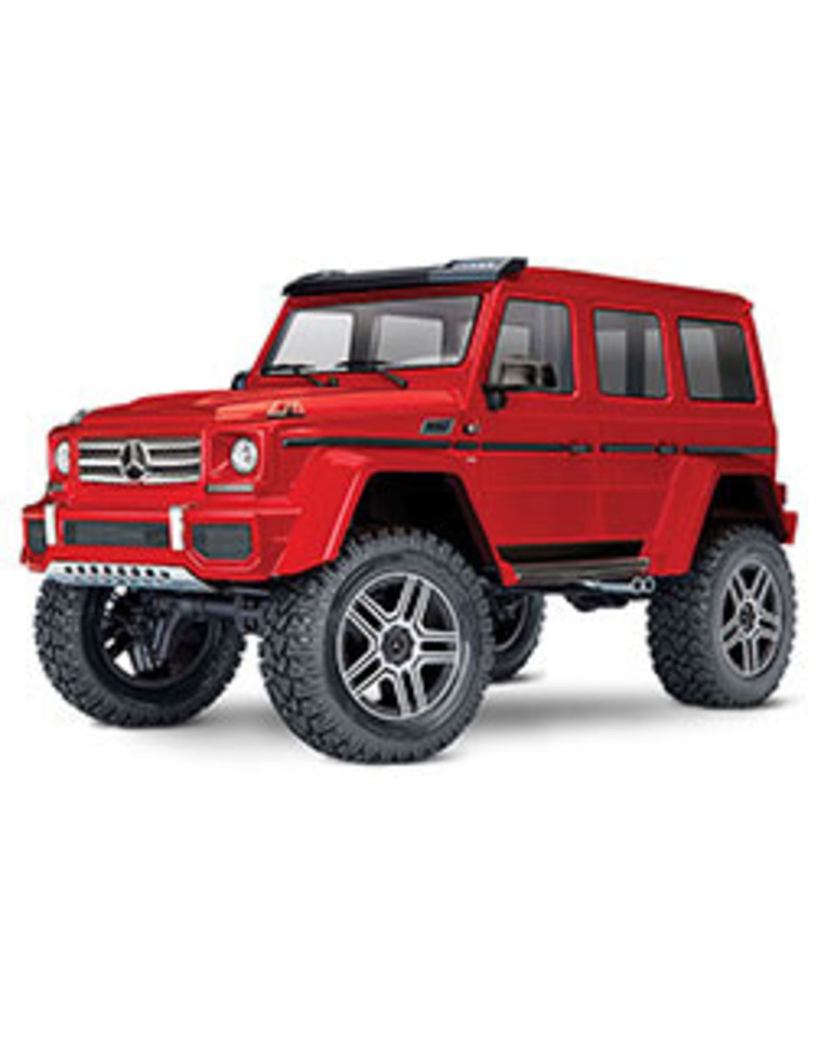 Traxxas 1/10 TRX-4 G 500 4X4 (RED): No Battery, No Charger (TRA82096-4)