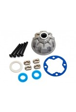 Traxxas Carrier, differential (aluminum)/ x-ring gaskets (2)/ ring gear gasket/ spacers (4)/ 12.2x18x0.5 MW (8681X)
