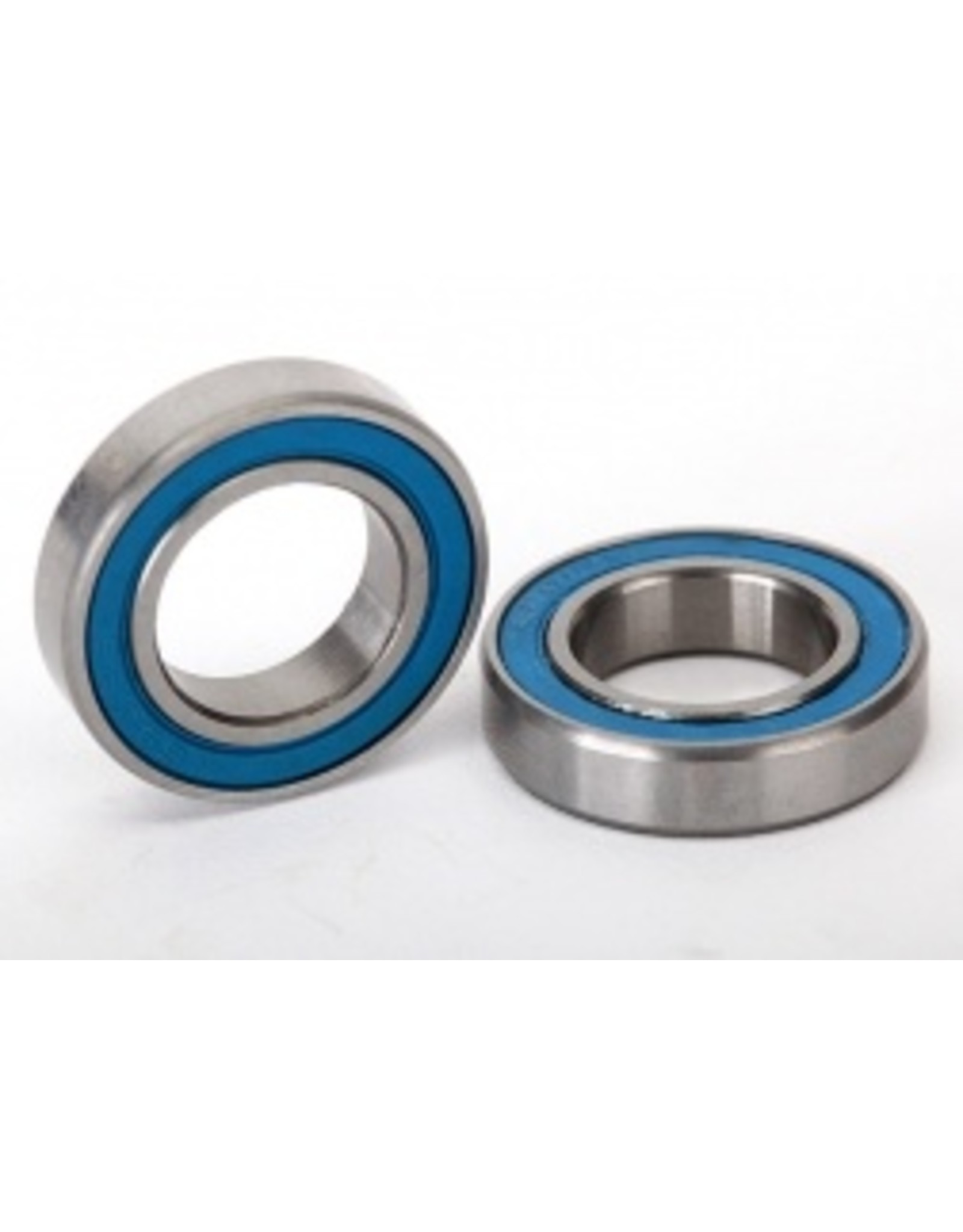 Traxxas Ball bearings, blue rubber sealed (12x21x5mm) (2) (5101)