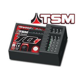 Traxxas Receiver, micro, TQi 2.4GHz with telemetry & TSM (5-channel) (TRA6533)
