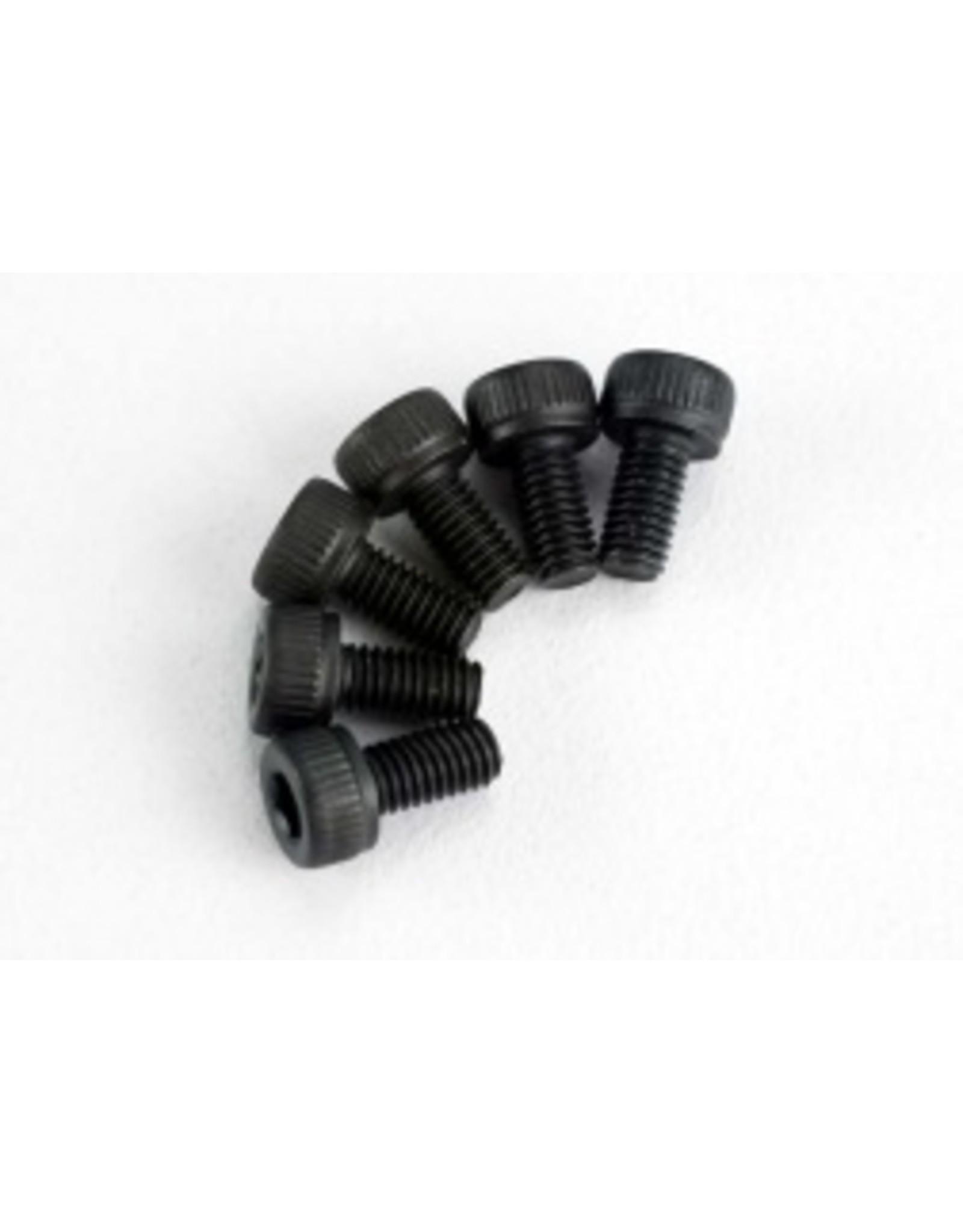 Traxxas Backplate Screws:TRX 2.5 (6):SLY,SLH  (TRA2554)