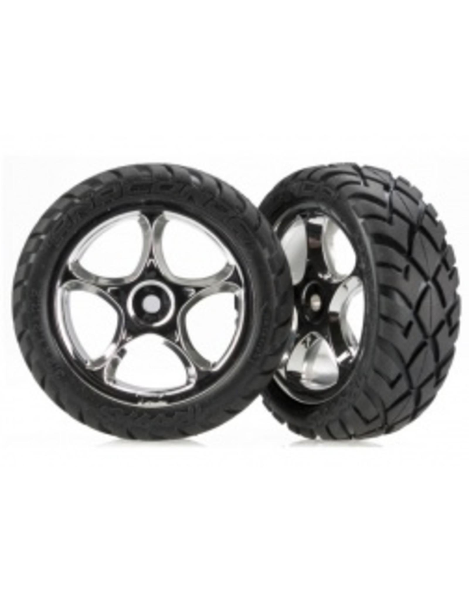 Traxxas Front Anaconda 2.2 Tire & Wheel: Bandit  (TRA2479R)